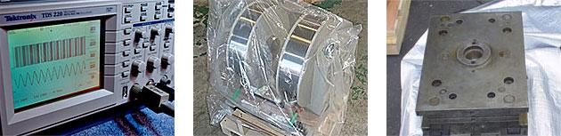 計測用精密機械、産業機械、金型などを梱包するのに適しています